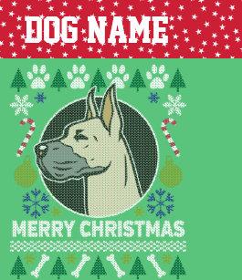 Great Dane Christmas Stockings | Zazzle