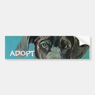 Great Dane Dog Bumper Sticker