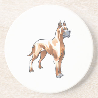 GREAT DANE DOG DRINK COASTERS