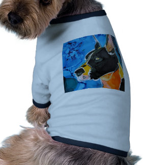 Great Dane Dog Colorful Alcohol Ink Painting Doggie Shirt