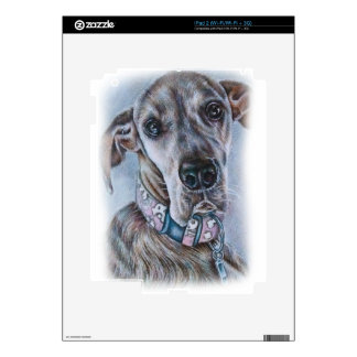 Great Dane Dog Drawing Design Decal For iPad 2