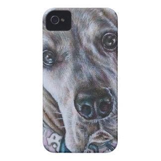 Great Dane Dog Drawing Design iPhone 4 Case