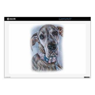 """Great Dane Dog Drawing Design Skins For 17"""" Laptops"""