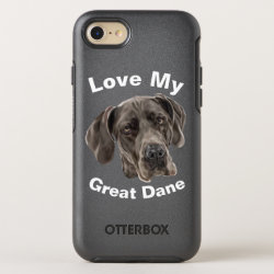 OtterBox Apple iPhone 7 Symmetry Case with Great Dane Phone Cases design