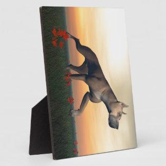 Great dane dog plaque