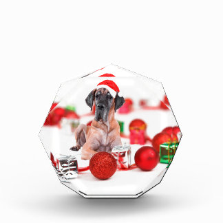 Great Dane Dog with Christmas Ornaments Gifts