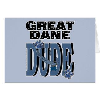 Great Dane DUDE Card