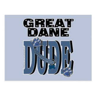 Great Dane DUDE Postcard