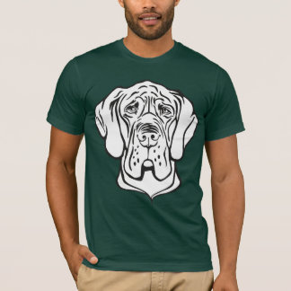 Great Dane Face T-Shirt