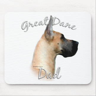 Great Dane (fawn) Dad 2 Mouse Pad