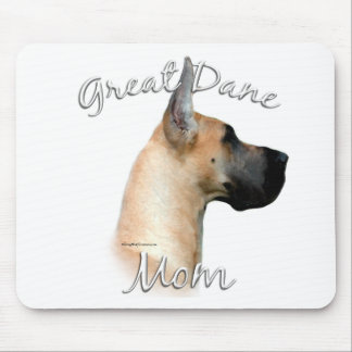 Great Dane (fawn) Mom 2 Mouse Pad