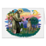 Great Dane (fawn, natural) Greeting Cards
