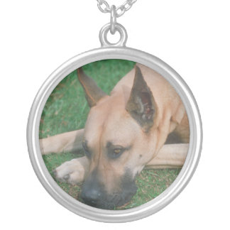 Great Dane Fawn Necklace