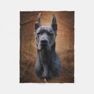 Great Dane Fleece Blanket