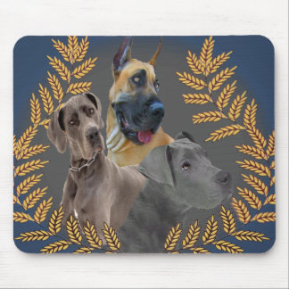 Great Dane Friends Gifts and cards Mouse Pad