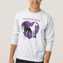 Great Dane Friends Mens GDFRL Sweatshirt