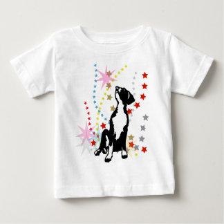 Great Dane Funny Stars Baby T-Shirt