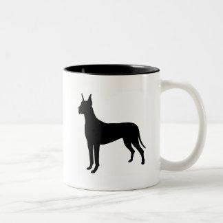 Great Dane Gear` Two-Tone Coffee Mug