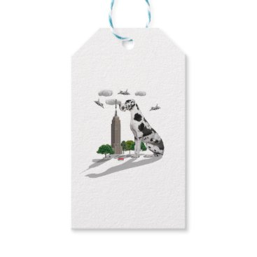 Beach Themed Great Dane Gift Tags