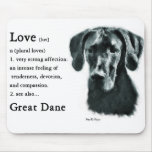 Great Dane Gifts Mouse Pad