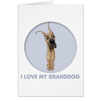 Great Dane granddog Card