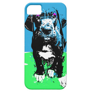 Great dane graph IC iPhone SE/5/5s Case