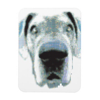 Great dane graph IC Magnet