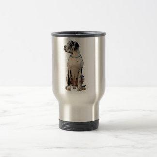 Great Dane Graphics 15 Oz Stainless Steel Travel Mug