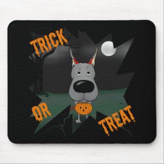 Great dane Halloween Alfombrilla De Ratones