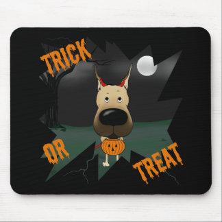 Great dane Halloween Tapetes De Raton