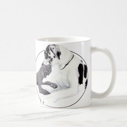 Great Dane Harle & Black Whisper Mugs