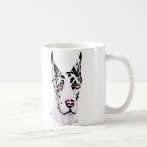 Great Dane Harle Cropped Pup Mug
