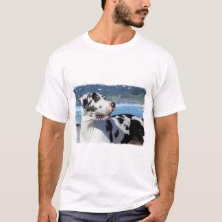 Great Dane - Harlequin - Bogey T-Shirt