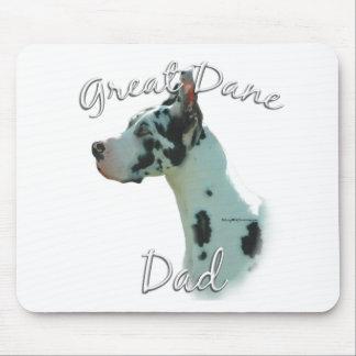 Great Dane (harlequin) Dad 2 Mouse Pad