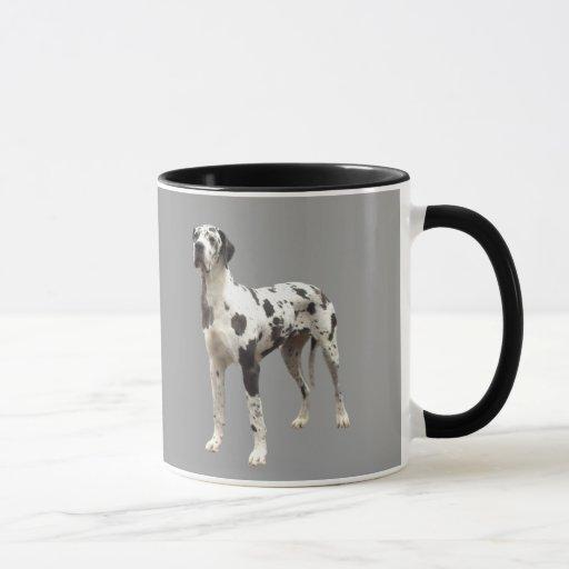 Great Dane Harlequin Mug