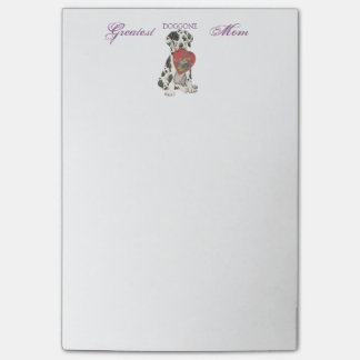 Great Dane Heart Mom Post-it® Notes