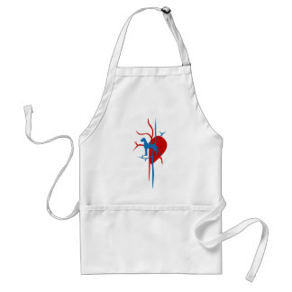 Great Dane in my heart Adult Apron