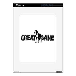 Great Dane iPad Decal