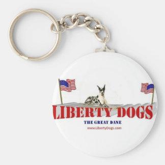 Great Dane Key Chain