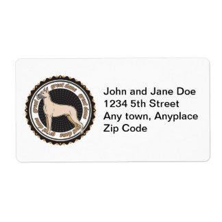 Great Dane Label