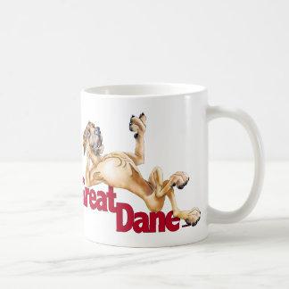 Great Dane Laid Back Fawn UC Coffee Mug