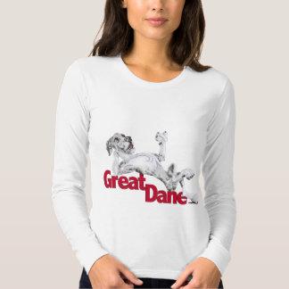 Great Dane Laid Back MerleB UC Tee Shirt