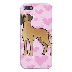 Case Savvy iPhone 5 Matte Finish Case with Great Dane Phone Cases design