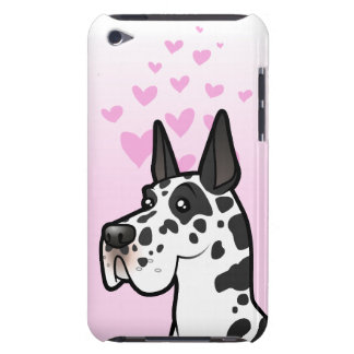 Great Dane Love (cropped) iPod Touch Case-Mate Case