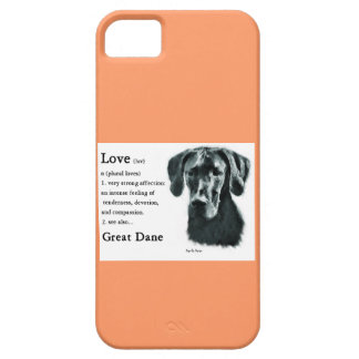 Great Dane Love Is iPhone SE/5/5s Case