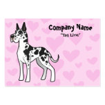 Great Dane Love Large Business Card