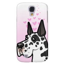 Case-Mate Barely There Samsung Galaxy S4 Case with Great Dane Phone Cases design