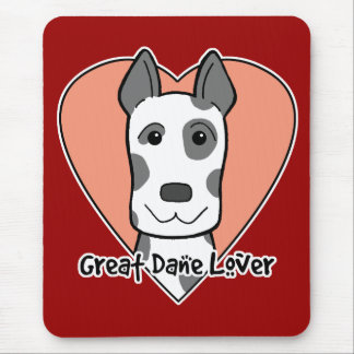 Great Dane Lover Mouse Pad