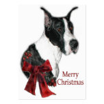 Great Dane Mantle Christmas Gifts Large Business Cards (Pack Of 100)