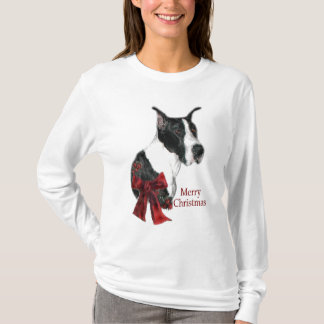 Great Dane Mantle Christmas Gifts T-Shirt